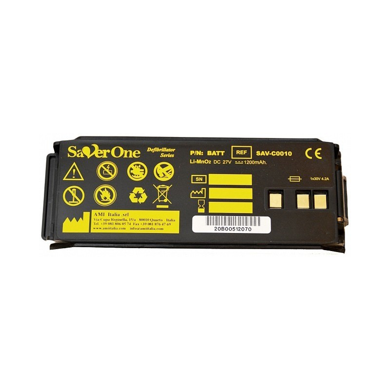 Batteria LiMinO2 Saver ONE D, 27V, 1200mAh