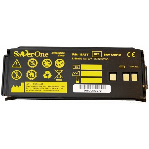 Batteria LiMinO2 Saver ONE-Saver One D, VECCHIA SERIE