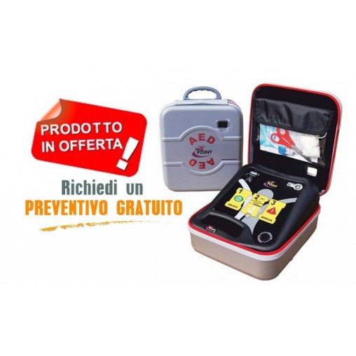 Defibrillatore LIFE POINT PRO + Elettrodi Pediatrici