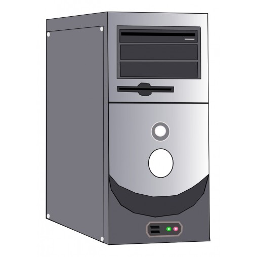 Opzione TOTEM I-CORE PC Industriale (CPU Quadcore 2.1 GHz, 4 GB Ram, SSD 64 GB, NO Sist. Op.)