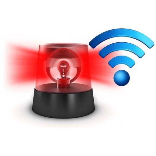 Opzione TOTEMI-CORE Scheda di Controllo Generale e Gestione Allarmi con eventuale comunicazione remota via RJ45/Wireless