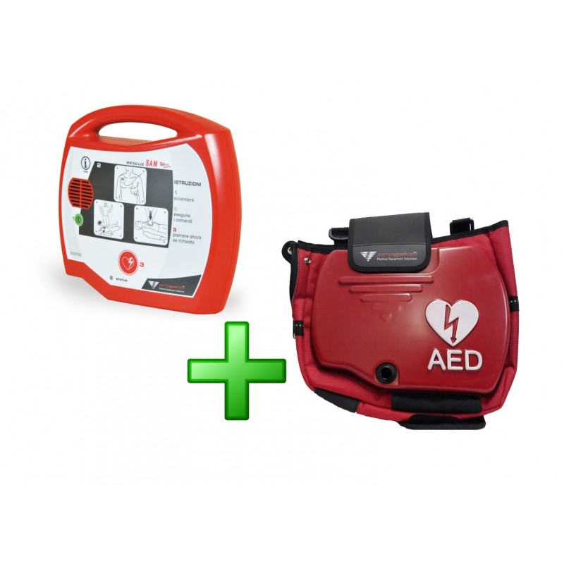 Defibrillatore Semiautomatico TECNOHEART Plus