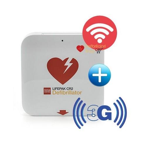 DEFIBRILLATORE SEMIAUTOMATICO LIFEPAK CR-2 Wi-Fi+3G