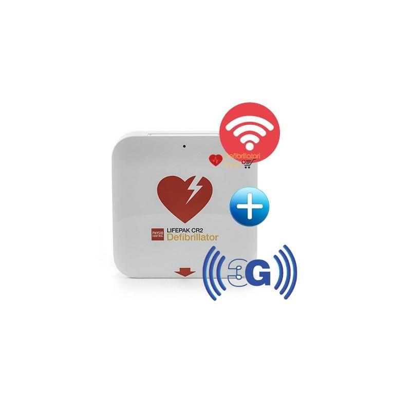 DEFIBRILLATORE SEMIAUTOMATICO LIFEPAK CR-2 Wi-Fi+3G 4 anni