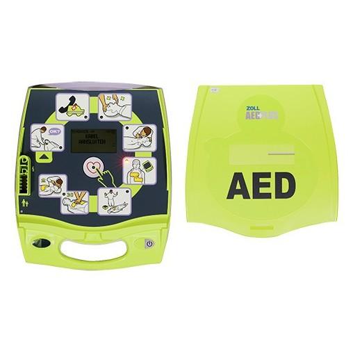 DEFIBRILLATORE ZOLL AED PLUS con Elettrodi Pediatrici + 1 ANNO ASSISTENZA GRATIS