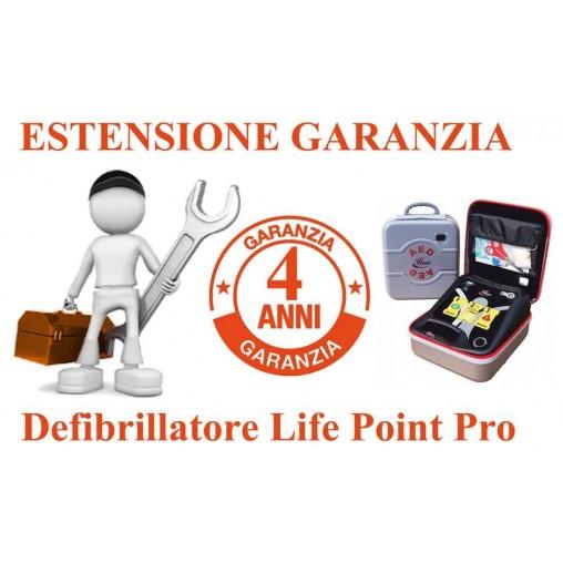 ESTENSIONE GARANZIA 4 ANNI LIFE POINT PRO