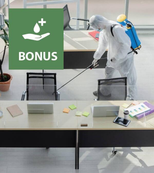Bonus sanificazione, acquisto di dispositivi e adeguamento degli ambienti di lavoro
